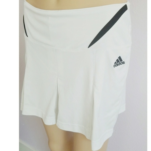 adidas Dresses & Skirts - Adidas white tennis skirt size small